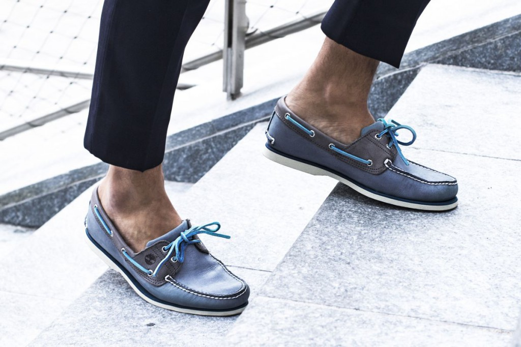 Boat shoes Timberland leather
